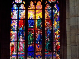 Cathedral glass work